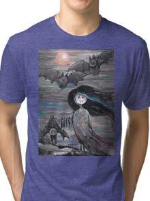 Vamp girl Tri-blend T-Shirt
