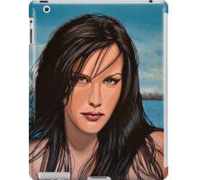 Liv Tyler Painting iPad Case/Skin