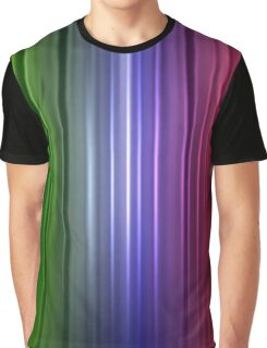 Abstract glowing color line Graphic T-Shirt