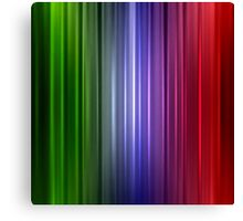 Abstract glowing color line Canvas Print