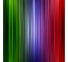 Abstract glowing color line Photographic Print