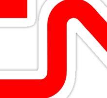CN - Canadian National Railway Sticker