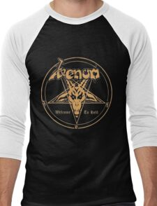 Venom band- Welcome to Hell Men's Baseball ¾ T-Shirt