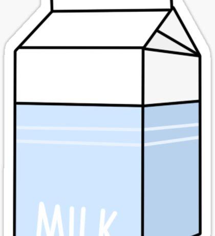 Milk Sticker Sticker