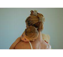 I love my mam Photographic Print