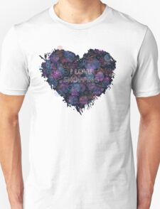 Shopping neon heart Unisex T-Shirt