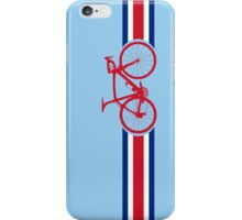 Bike Stripes Coata Rica iPhone Case/Skin