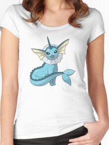Pokemon - Vaporeon Women's Fitted Scoop T-Shirt