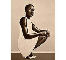 Lupita Nyong'o Painting Photographic Print