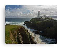 Morning at the Lighthouse Canvas Print