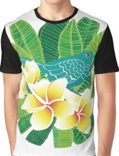 Plumeria obtusa Graphic T-Shirt