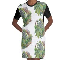 Lucky Lizard  Graphic T-Shirt Dress
