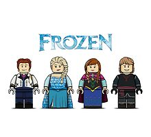 LEGO Frozen by mellowmind