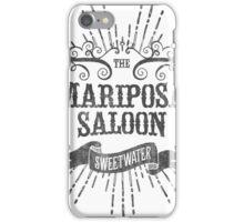 Mariposa Saloon iPhone Case/Skin