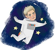 Space Niall by ashleyrguillory