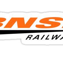 BNSF Railway Sticker