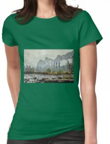 Rivers and Roads Womens Fitted T-Shirt