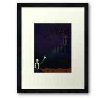 Take Me Home (hhgttg) Framed Print
