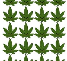 Happy Weed Pattern by BobbyCorps