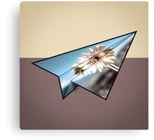 Paper Airplane 33 Canvas Print