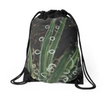 Curly Nature Drawstring Bag