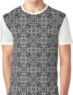 Boho Tribal Geometric Graphic T-Shirt