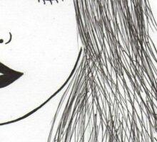 Jane Birkin Art Sticker