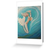 Ladies in White mermaid art Greeting Card