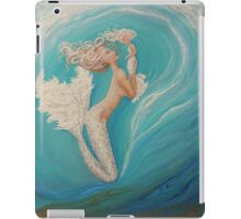 Ladies in White mermaid art iPad Case/Skin