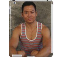 Male Sitting iPad Case/Skin