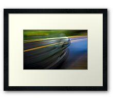 Vitesse Framed Print