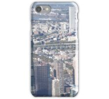Harsimus Branch Embankment, Jersey City Skyline, Aerial View, Jersey City, New Jersey iPhone Case/Skin