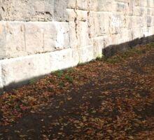 Harsimus Branch Embankment, Autumn View, Jersey City, New Jersey  Sticker