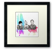Faceless 182 Framed Print