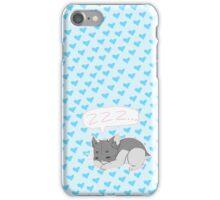 Sleepy Hamster iPhone Case/Skin
