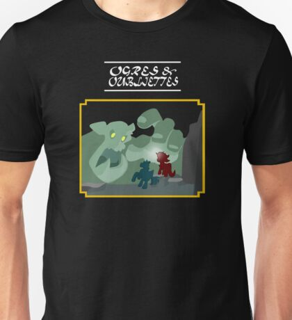 Ogres and Oubliettes - white text Unisex T-Shirt