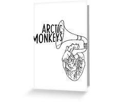 Arctic Monkeys and whatever this thing is.  Greeting Card