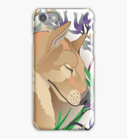 Dreaming Thylacine  iPhone Case/Skin