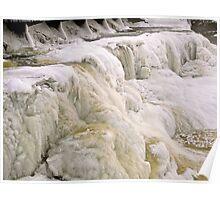 Frozen Rideau Falls #2 Poster
