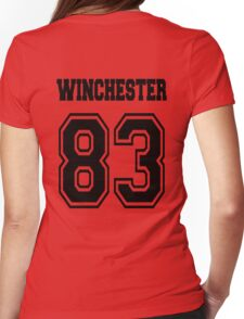 Winchester 83 Sam - Black Womens Fitted T-Shirt