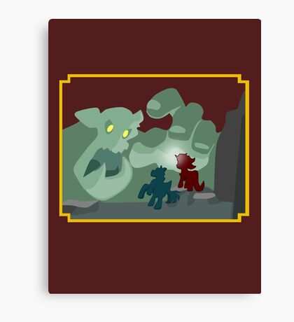 Ogres and Oubliettes - NO text Canvas Print