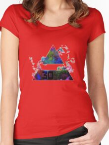 30 Seconds To Mars Women's Fitted Scoop T-Shirt