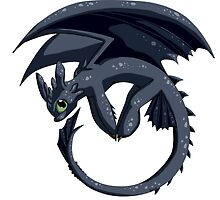 Chibi Toothless by Sofua