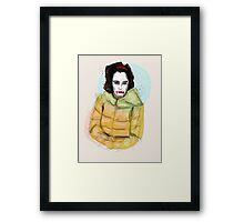 Ms Scary Framed Print