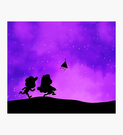 Gravity Falls - Purple Photographic Print