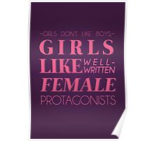 girls don't like boys Poster