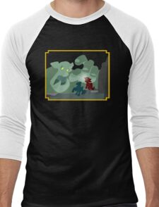 Ogres and Oubliettes - NO text Men's Baseball ¾ T-Shirt