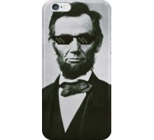 Swagbraham Lincoln iPhone Case/Skin