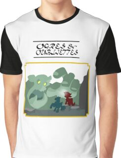 Ogres and Oubliettes - black text Graphic T-Shirt