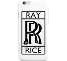 Ray Rice - Rolls Royce parody iPhone Case/Skin